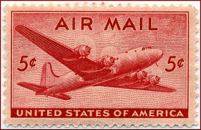 1946 AIR MAIL 5 CENTS